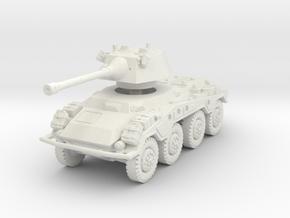 Sdkfz 234-2 Puma 1/100 in White Natural Versatile Plastic
