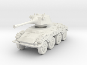 Sdkfz 234-2 Puma 1/87 in White Natural Versatile Plastic