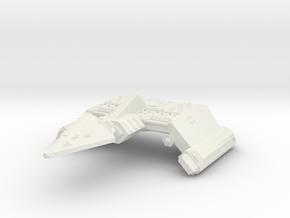 3125 Scale Neo-Tholian Battleship Carrier SRZ in White Natural Versatile Plastic