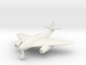 (1:144) Messerschmitt Me 262 HG 'Notched Delta' in White Natural Versatile Plastic