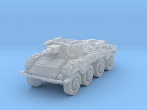 Sdkfz 234-3 1/285 in Smooth Fine Detail Plastic