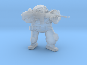 FallOut Fighter M16A1 in Smoothest Fine Detail Plastic