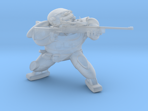 FallOut Fighter Sniper in Smooth Fine Detail Plastic