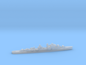 USS Shannon destroyer ml 1:1800 WW2 in Smoothest Fine Detail Plastic