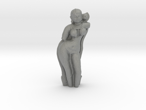 Yakshini Sculpture in Gray PA12: Medium