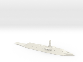1/700 CSS Virginia (Waterline) in White Natural Versatile Plastic