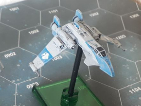 Star Guard Republic Strike Fighter (1/270) in Smooth Fine Detail Plastic