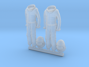 SPACE 2999 1/48 ASTRONAUT SUIT HANGING  in Smooth Fine Detail Plastic