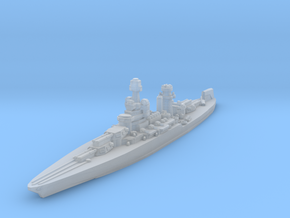 Maryland Battleship 1942 1/1800 in Smooth Fine Detail Plastic