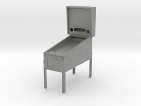 Mini Pinball Cabinet V1 - 1:10 Scale 1 part in Gray PA12