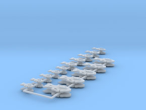 Commission 110 icons various sizes part 1 in Smooth Fine Detail Plastic