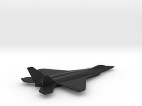 TAI TF-X (Turkish Fighter - Experimental) in Black Natural Versatile Plastic: 1:200