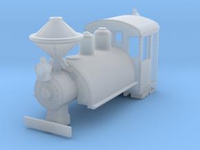 b-160fs-baldwin-0-6-0-saddletank-loco in Smooth Fine Detail Plastic