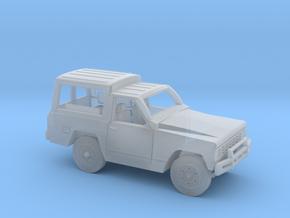 Nissa-Patrol-MC-4-N-TECHO-RIG in Smooth Fine Detail Plastic: 1:120 - TT