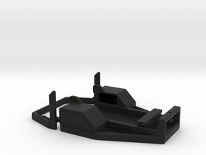 Axial SCX24  Flat Bed Conversion  in Black Natural Versatile Plastic