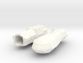 2500 Carrack Light Cruiser in White Processed Versatile Plastic