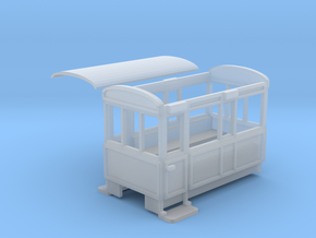 WHHR 4 wheeled coach NO.6 in Smooth Fine Detail Plastic