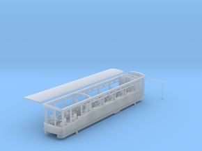 Ffestiniog Rly Superbarn observation coach NO.152 in Smooth Fine Detail Plastic