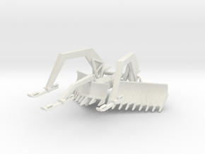 1/56 Scale M1 ABV Mine Plow in White Natural Versatile Plastic