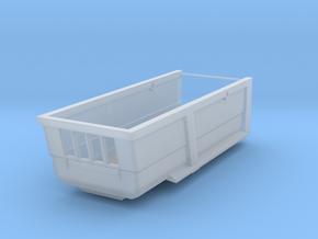 1/87 HO Kippmulde 18m³, 5,5m Länge, 1,5m Bordwand in Smooth Fine Detail Plastic