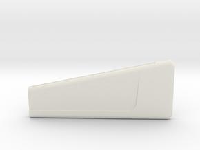 1400 USS Hood Pylon Right in White Natural Versatile Plastic