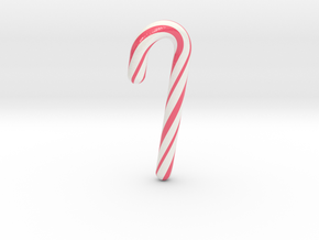 Candy cane lovely - Small in Glossy Full Color Sandstone