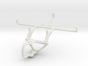 Controller mount for PS3 & Honor Play 3 in White Natural Versatile Plastic