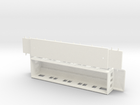 Ao3 - Swedish passenger wagon in White Processed Versatile Plastic