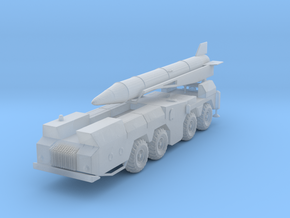 MAZ-543 with SCUD 1/220 in Smooth Fine Detail Plastic
