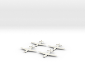 AS.51 Horsa Glider (United Kingdom) -GW39- (Qty. 4 in White Natural Versatile Plastic