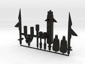 Megasword for BotCon Magnaboss in Black Natural Versatile Plastic