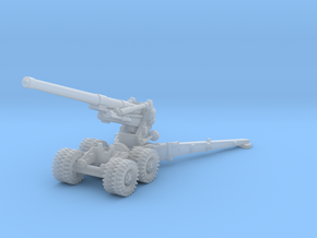 BL 7.2 inch Howitzer 1/200 in Smooth Fine Detail Plastic
