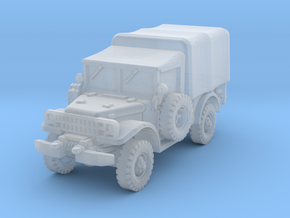 Dodge M37 (closed) 1/87 in Smooth Fine Detail Plastic