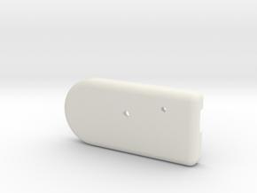 MetaWear ActivTrac Upper Case in White Natural Versatile Plastic