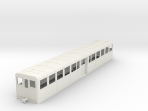 c-43-camargue-decauville-coach in White Natural Versatile Plastic
