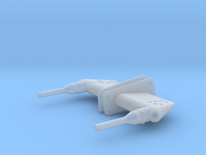 EC135 Pitot (L/R) 1/6 scale in Smooth Fine Detail Plastic