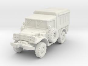 Dodge M42 1/120 in White Natural Versatile Plastic