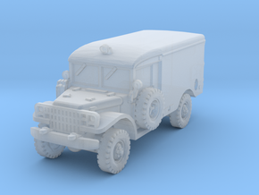 Dodge M43 Ambulance 1/160 in Smooth Fine Detail Plastic