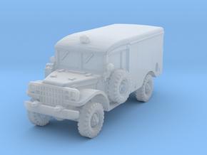 Dodge M43 Ambulance 1/220 in Smooth Fine Detail Plastic