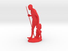 Gandhi Ceramic in Red Processed Versatile Plastic: Medium