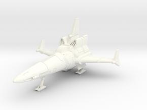144 CSRV12 Corsair (landed) in White Processed Versatile Plastic