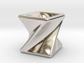 Twist Box I in Platinum