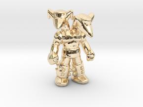 Mazinger Z Doublas 55mm monster mech kaiju in 14K Yellow Gold