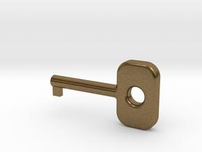 Cuff Key in Natural Bronze