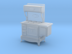 1:48 Nob Hill Stove Range in Smooth Fine Detail Plastic
