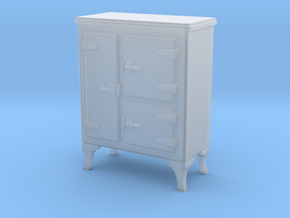 1:48 Nob Hill Antique Fridge in Smooth Fine Detail Plastic
