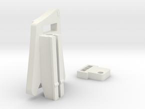 Contour Action Cam for V-Force Grill (Left Side) in White Natural Versatile Plastic