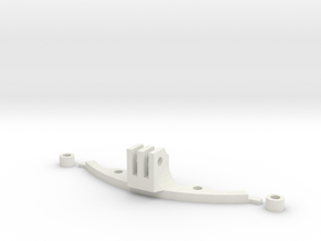 HK KLR GoPro Mount in White Natural Versatile Plastic