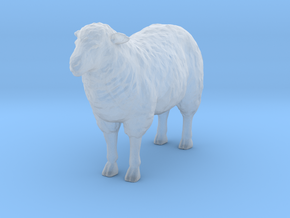 1-20th Scale Sheep in Smooth Fine Detail Plastic