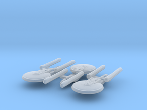 Excelsior Class (NCC-2000 variant) 1/15000 x3 in Smooth Fine Detail Plastic